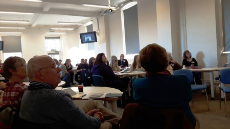 Delegates at the Women's History Conference on 21 November 2015